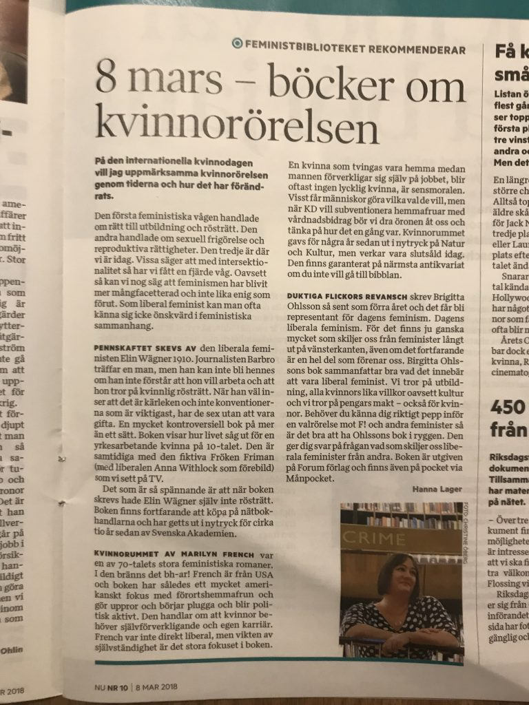 Tidningen NU mars 2018