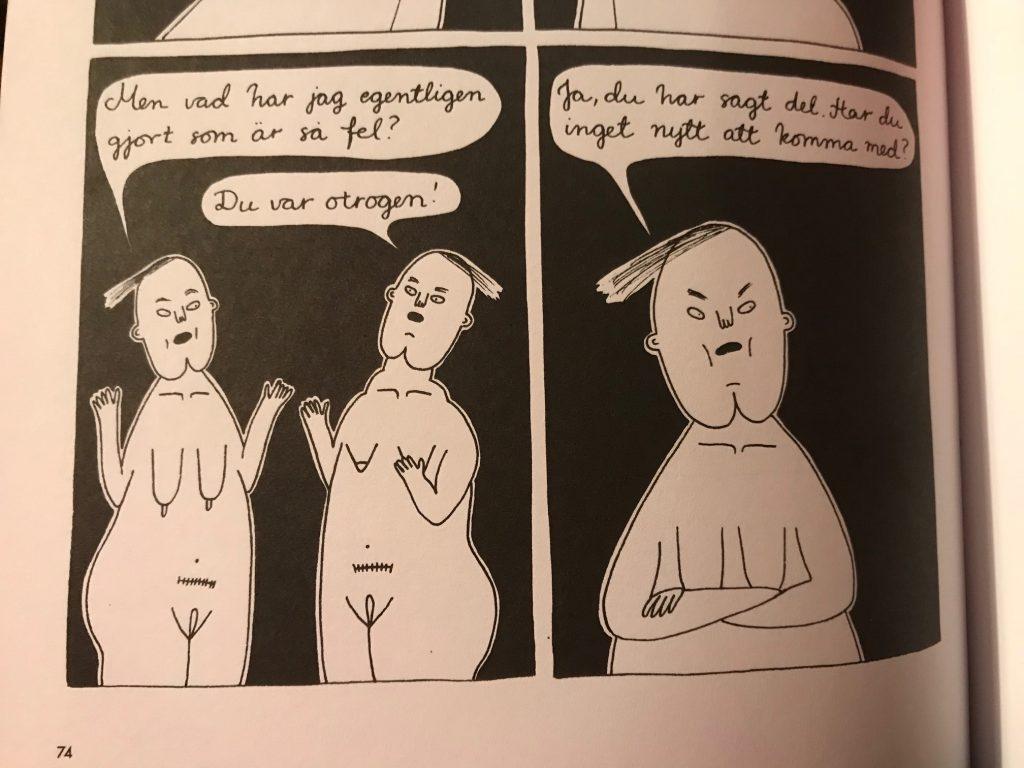 Anna Åhlund om dåliga relationer