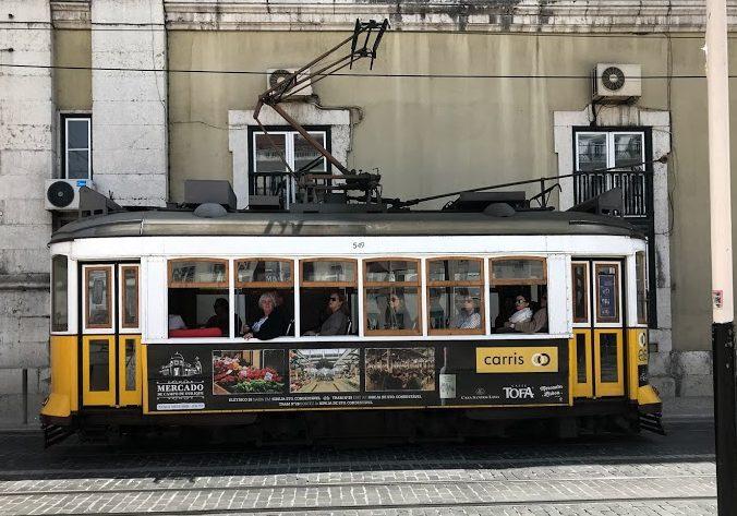 Tram 28 i Lissabon