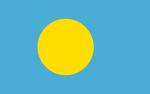 Palaus flagga