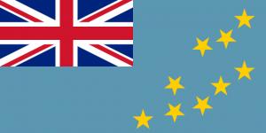 Tuvalus flagga