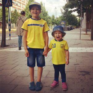 Mina fotbollsfan-ungar