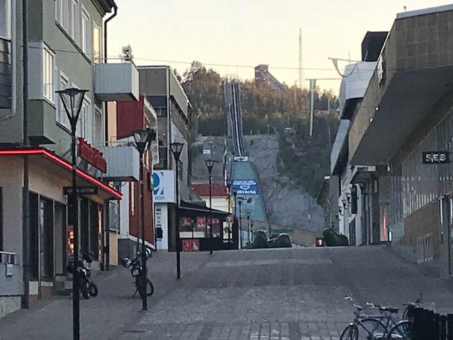 Bakhoppning i Övik