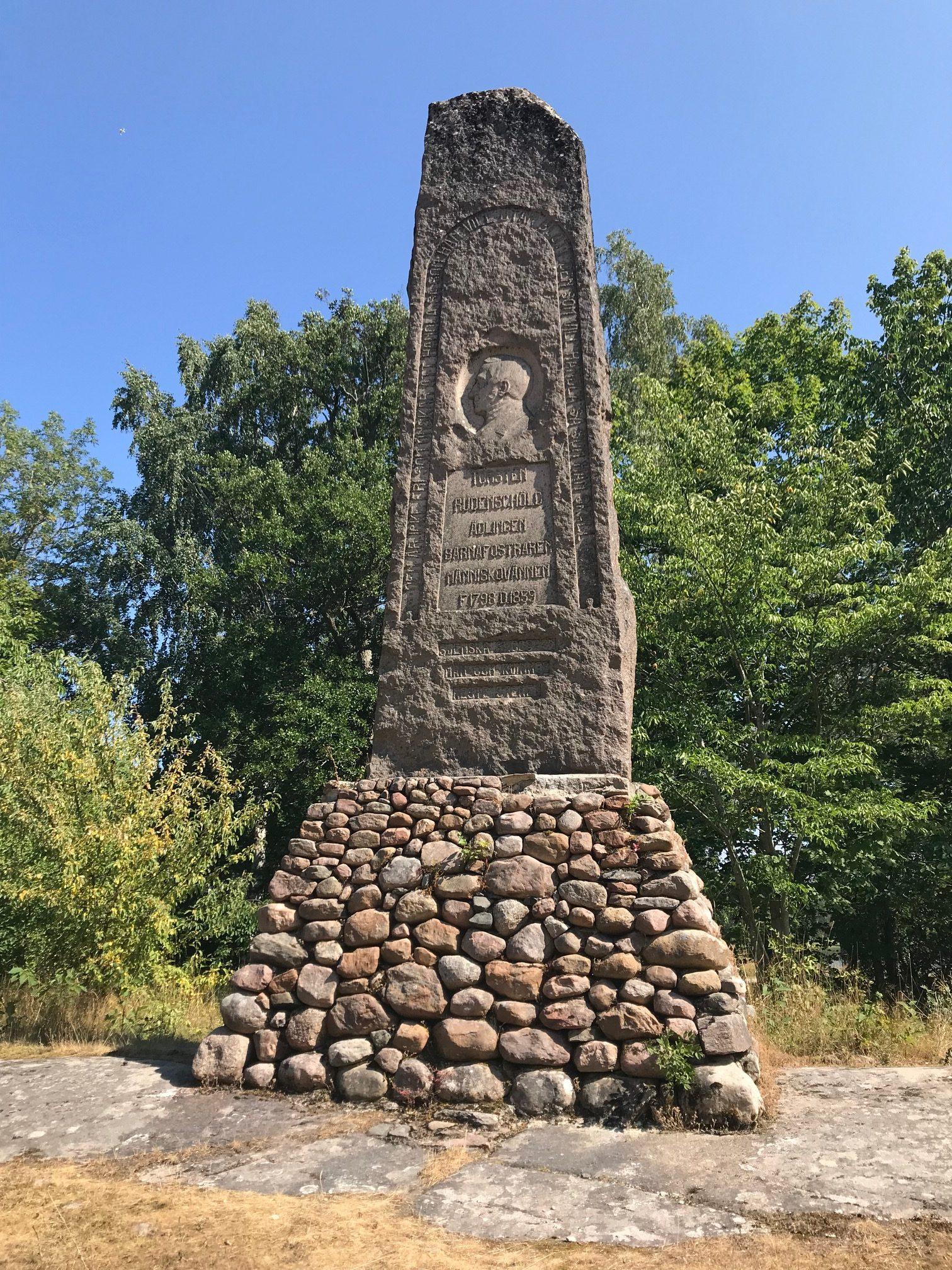 Monument över Torsten Rudenschiöld
