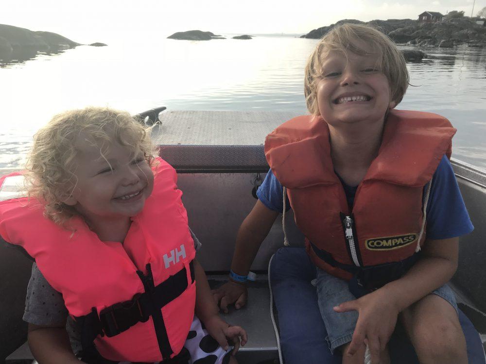 Barnen i båten