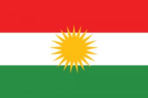 Kurdistans flagga