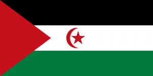 Västsaharas flagga