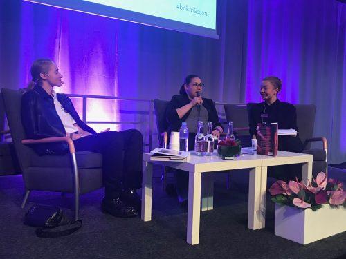 Silvana Imam och Niviaq Korneliussen på Bokmässan 2018