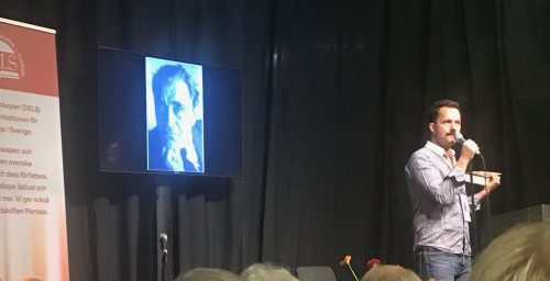 Jens Liljestrand om Vilhelm Moberg på Bokmässan 2018
