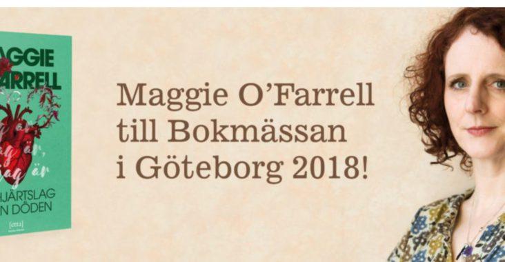 Maggie O'Farrell på bokmässan 2018