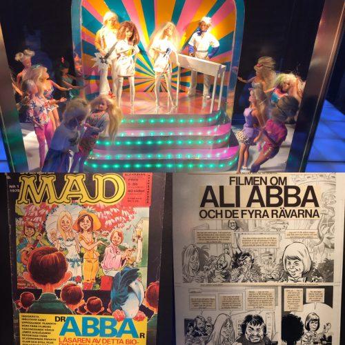 ABBA och Mad på leksaksmuseet