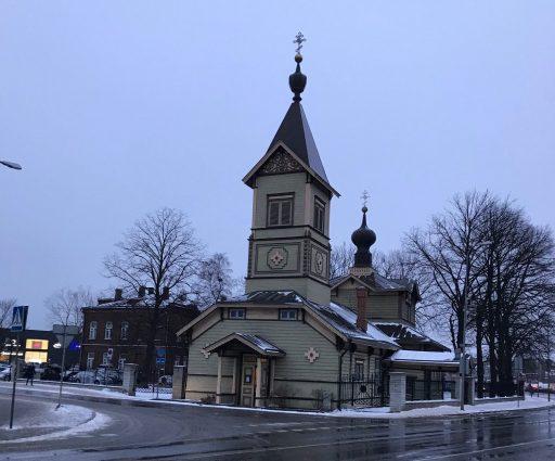 St. Simeon och den kvinnliga profeten Hannas kyrka