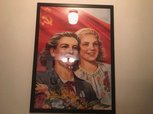 Propagandaaffisch på Gästis