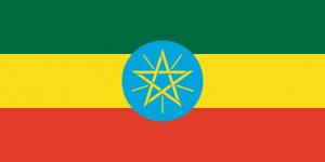 Etiopiens flagga