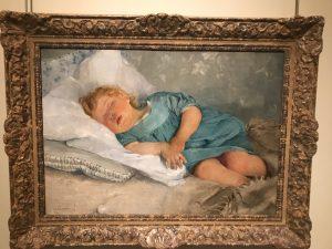 Sovande barn av Emma Löwstädt-Chadwick