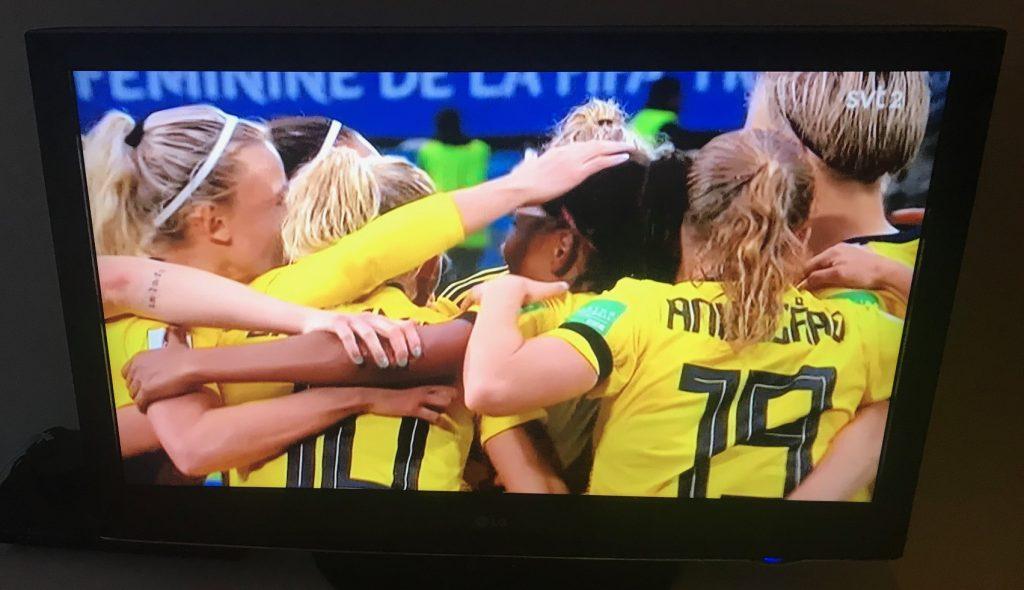 Sverige-Chile 2-0