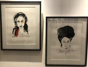 Stina Wirsén tecknar feminister