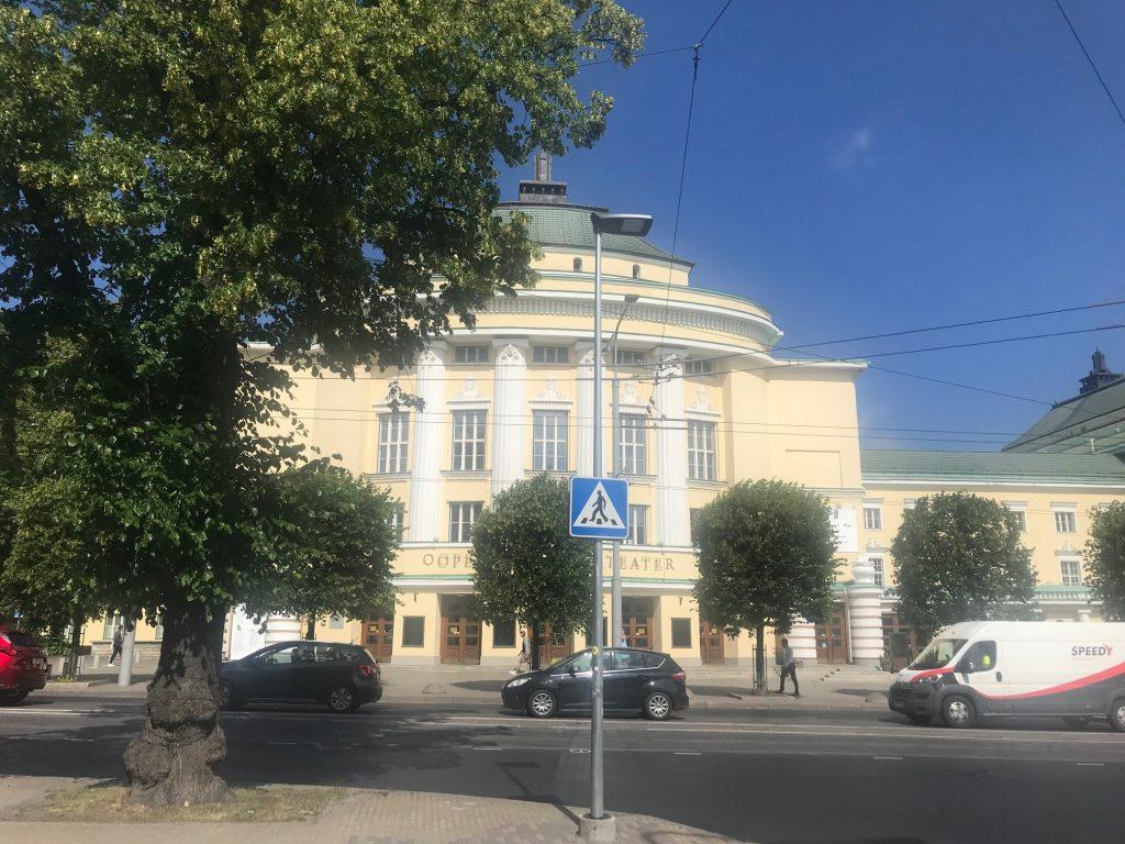 Estlands opera och teater
