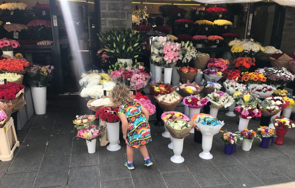 Blomstermarknaden vid Virugrindarna