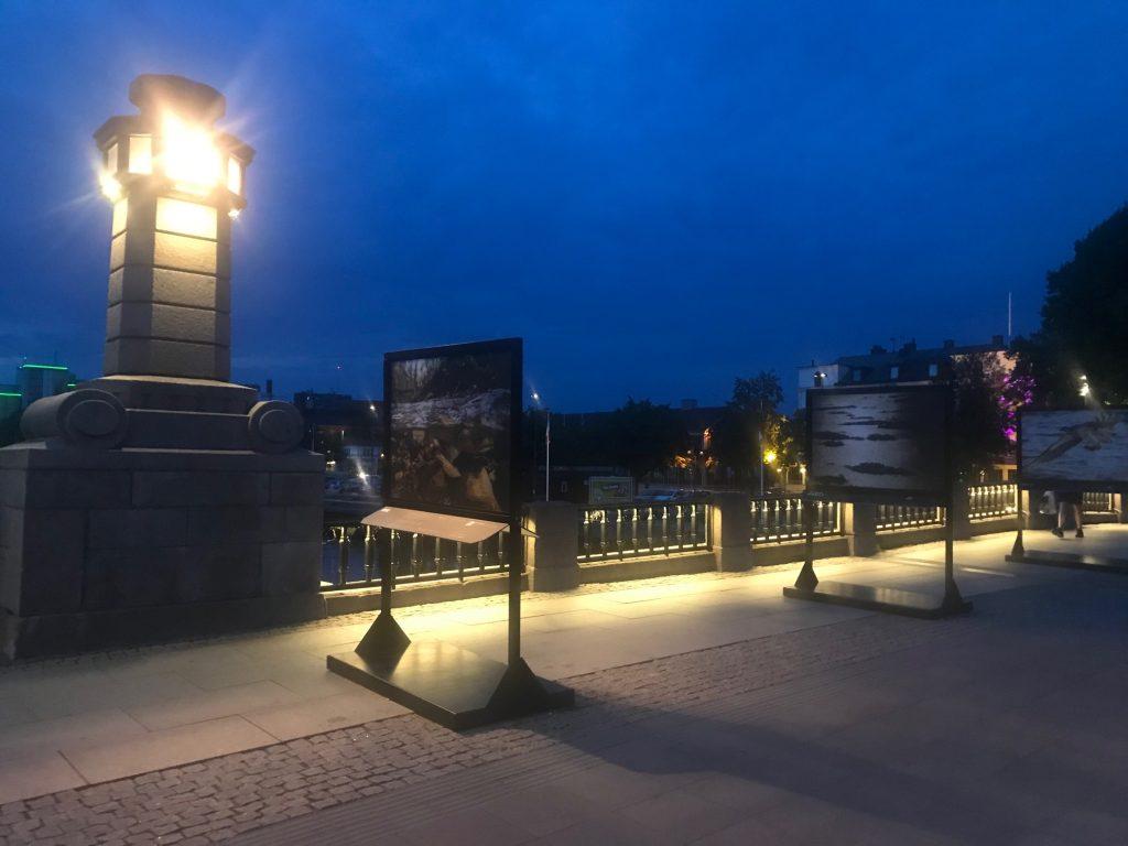 Utställning på torgbron, Värdefulla vatten