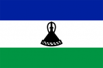 Lesothos flagga