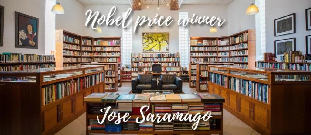 José Saramagos bibliotek på Lanzarote