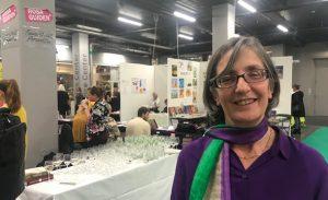 Helen Pankhurst på bokmässan 2019