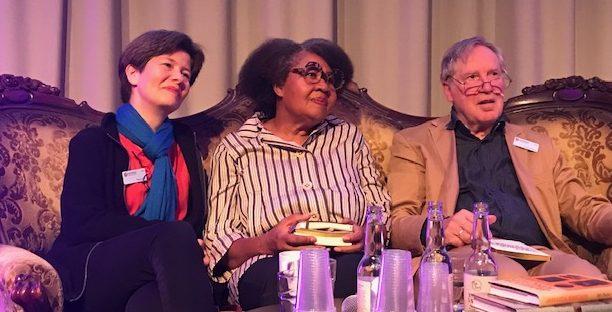 Yukiko, Jamaica och Gunnar på bokmässan 2019
