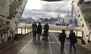 Silja Symphony och ett gäng lagom besvikna resenärer