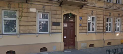 Czeslaw Milosz hem i Krakow