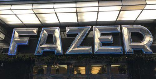 Karl Fazer café i Helsingfors