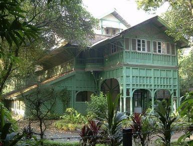 Kiplings födelsehus i Bombay