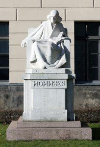 Staty över Theodor Mommsen