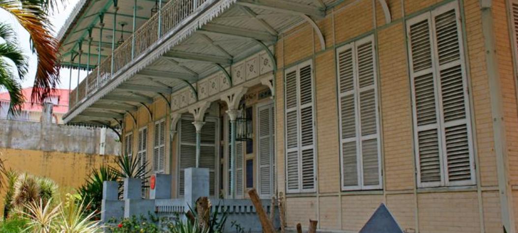 Saint-John Perses museum på Guadeloupe