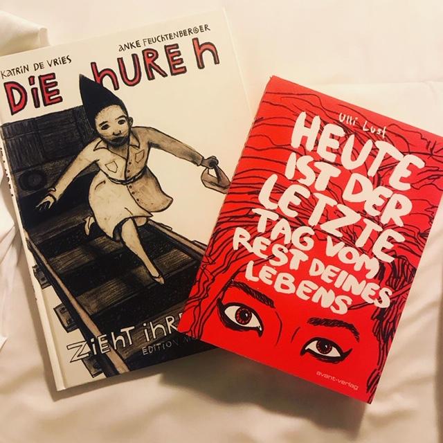 Två feministiska serier på tyska
