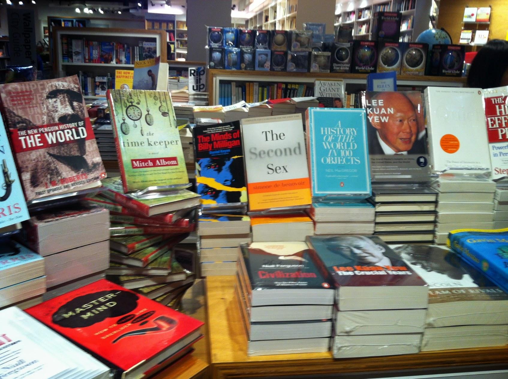 Böcker i Hongkong