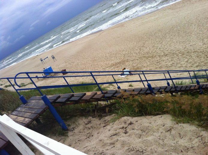 Stranden i Nida, Litauen