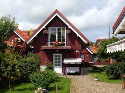 Hus i Nida på Kuriska Näset