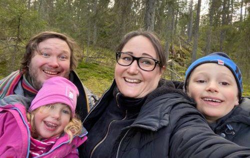 Familjen i skogen