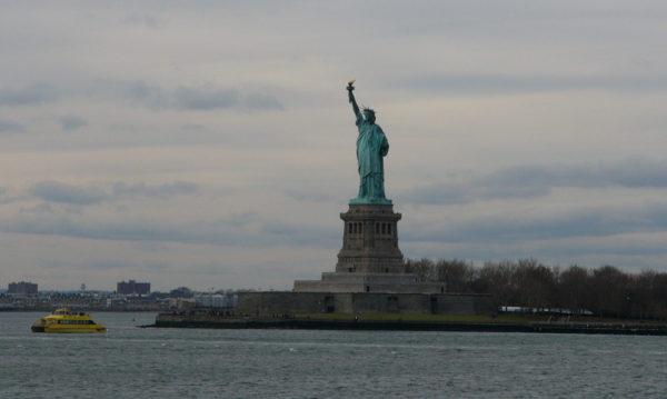 Frihetsgudinnan i New York