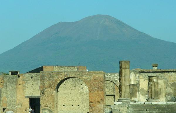 Pompeji och Vesuvius