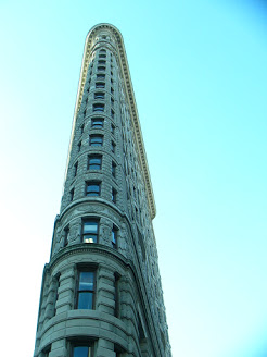 Flatiron Buildning i New York