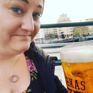 Jag dricker öl i coronatider