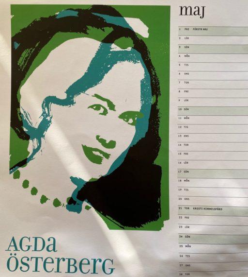 Dagens dam Agda Österberg