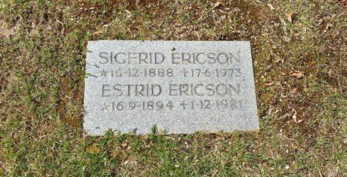 Estrid Ericsons grav