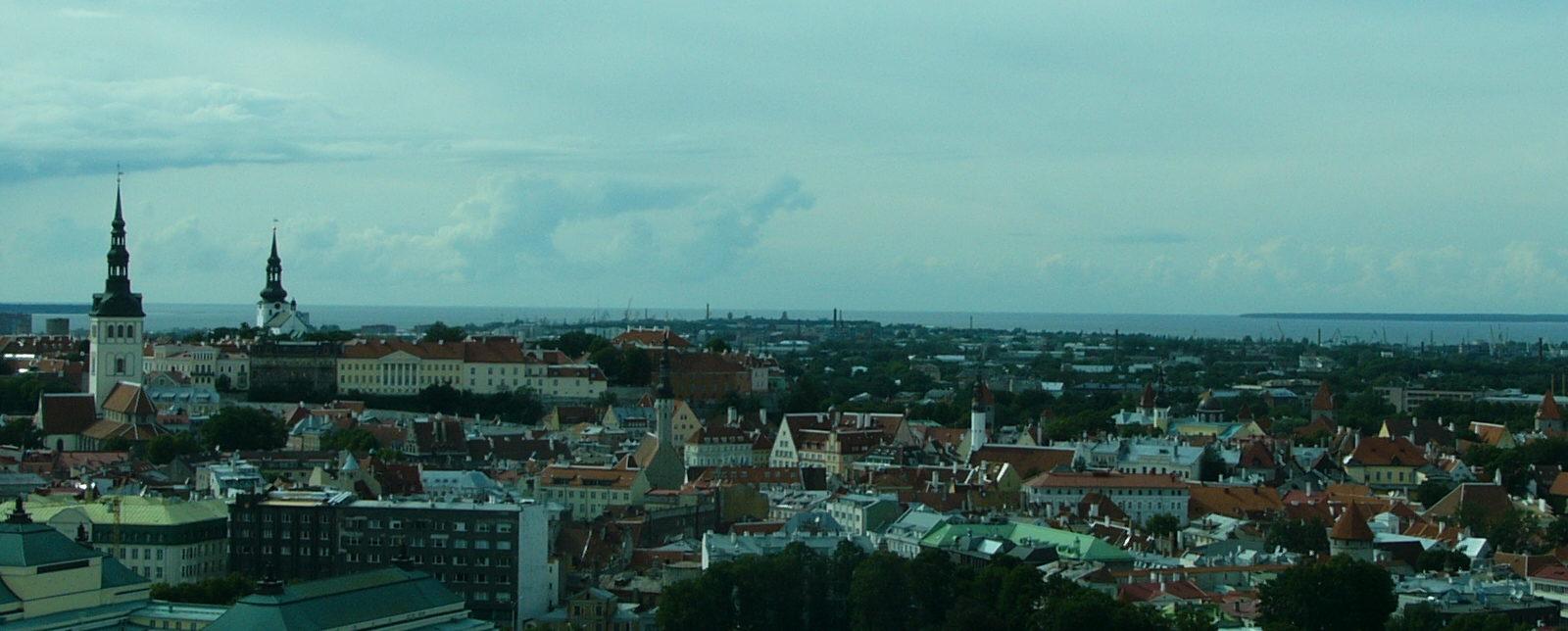 Tallinn från ovan