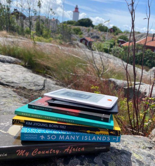 Böcker på Landsort