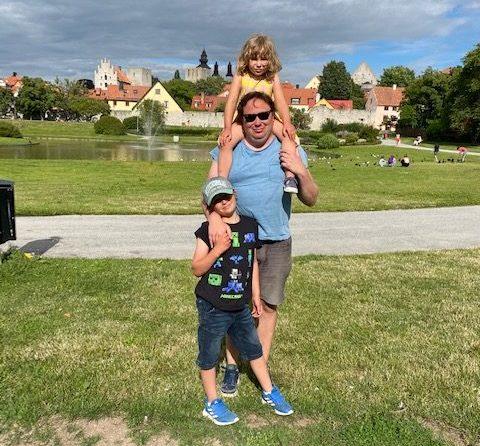 Familjen i Almedalen