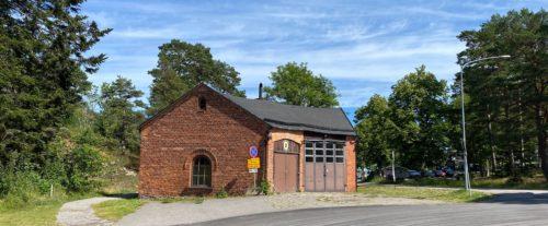 Brandstationen i Arkösund