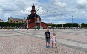 Hugo och Selma i Lidköping
